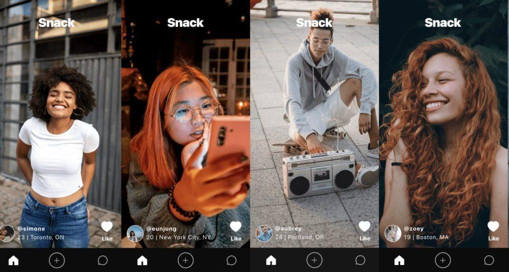 """L'App di incontri """"Snack"""""""